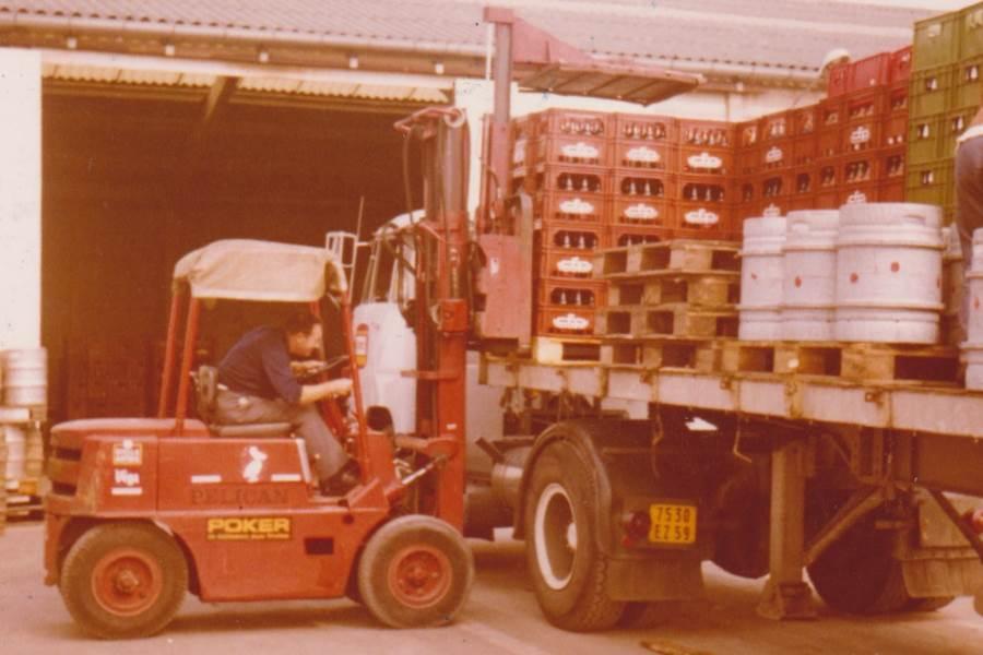 Fichel Distribution, Grossiste de boissons indépendant à ses débuts